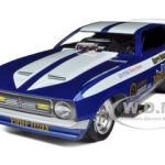 1971 Ford Mustang Blue Max NHRA Funny Car 1/18 Diecast Model Car by Autoworld