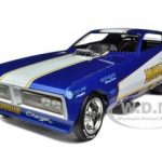 1971 Dodge Charger Roland Leong Hawaiian NHRA Funny Car 1/18 Diecast Model Car by Autoworld