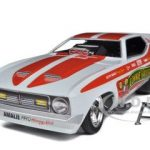 1972 Connie Kalitta Bounty Hunter NHRA Funny Car 1/18 Diecast Model Car by Autoworld
