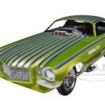 1971 Chevrolet Camaro Fighting Irish NHRA Funny Car 1/18 Diecast Model Car by Autoworld