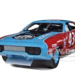 1972 Plymouth Road Runner #43 Richard Petty STP 1/18 Diecast Model Car by Autoworld