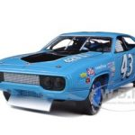 1971 Plymouth Road Runner Richard Petty Blue / Pepsi #43 Ltd to 2500pc 1/18 Diecast Model Car by Autoworld