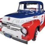 1956 Ford F-100 Pepsi Cola Limited to 1250 pc Worldwide 1/18 Diecast Model Car by Autoworld