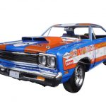 1969 Plymouth Roadrunner 440+6 Don Grotheer Limited Edition to 996pcs 1/18 Diecast Model Car by Autoworld