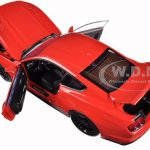 2015 Ford Mustang Gt 5.0 Red Limited Edition to 1250pc 1/18 Diecast Model Car by Autoworld