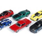 Autoworld Muscle Cars Release A 64003 Set Of 6 Cars 1/64 Diecast Model Car by Autoworld