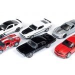 Autoworld Muscle Cars Release B 64003 Set Of 6 Cars 1/64 Diecast Model Cars by Autoworld