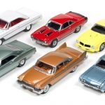 Autoworld Muscle Cars Release 5A Premium Licensed Set Of 6 Cars 1/64 Diecast Model Cars by Autoworld