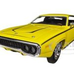 1971 Plymouth Satellite Yellow Dukes Of Hazzard  Limited to 2000pc 1/18 Diecast Model Car by Autoworld