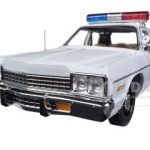 1975 Dodge Monaco Police Pursuit Dukes of Hazzard  Limited to 2000pc 1/18 Diecast Model Car by Autoworld