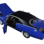 1968 Dodge Charger Hardtop Blue Christine Movie 1/18 Diecast Model Car by Autoworld