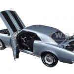 1967 Chevrolet Camaro Silver/Blue Christine Movie Limited Edition to 1002pcs 1/18 Diecast Model Car by Autoworld