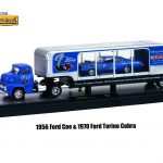 Auto Haulers Release 19 B 3 Trucks Set 1/64 Diecast Models by M2 Machines