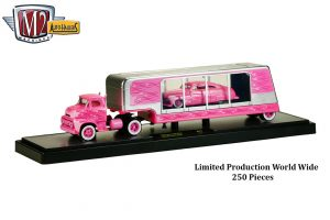 Auto_Haulers_Release_17B_CHASE_1956_Ford_COE_and_1949_Mercury_Custom_Pink_Metallic_with_Light_Pink_Metallic_Flames_Limited_Production_World_Wide_250_Pieces_Final_Image__61424