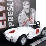 Elvis Presleys 1965 Shelby Cobra 427 S/C From Movie Spinout 1 of 1000 Produced 1/24 Diecast Car Model by Franklin Mint