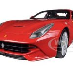 Ferrari F12 Berlinetta Red 1/18 Diecast Car Model by Hotwheels