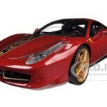 Ferrari 458 Italia Elite China Edition 1/18 Diecast Car Model by Hotwheels