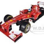 Ferrari F2013 F138 Fernando Alonso Formula 1 2013 F1 1/18 Diecast Car Model by Hotwheels