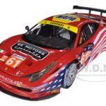 Elite Ferrari 458 Italia GT2 #61 LM 2012 AF Corse Sebring 1/18 Diecast Car Model by Hotwheels