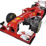 Ferrari F1 F138 Fernando Alonso China GP 2013 Elite Edition 1/18 Diecast Car Model by Hotwheels