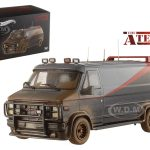 1983 GMC Vandura Cargo Van G Series The A-Team Muddy Version 1/43 Diecast Car Model by Hotwheels