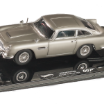 Aston Martin DB5 Elite Edition James Bond 007 Goldfinger Movie 1964 1/43 Diecast Model Car by Hotwheels
