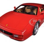 Ferrari F355 Berlinetta Coupe Red 1/18 Diecast Car Model by Hotwheels