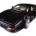 Ferrari F355 Berlinetta Coupe Black 1/18 Diecast Car Model by Hotwheels