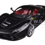 Ferrari Laferrari F70 Hybrid Matt Black 1/24 Diecast Model Car by Hotwheels