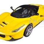 Ferrari Laferrari F70 Hybrid Yellow 1/24 Diecast Car Model by Hotwheels