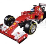 2014 Ferrari F1 F14 T Formula 1 F2014 Fernando Alonso 1/18 Diecast Car Model by Hotwheels