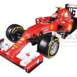 2014 Ferrari F1 F14 T Formula 1 F2014 Kimi Raikkonen 1/18 Diecast Car Model by Hotwheels