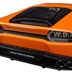 Lamborghini Huracan LP610-4 Orange 1/18 Diecast Model Car by Kyosho