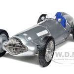 1938 Mercedes W 154 Silver 1/18 Diecast Car Model by CMC