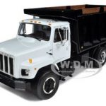 International S Series Dump Truck White/Black 1/25 Diecast Model by First Gear