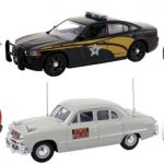 Set of 6 Police Cars Release #1 1/43 Diecast Car Models by First Response