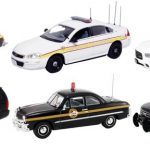 Set of 6 Police Cars Release #2 1/43 Diecast Car Model by First Response