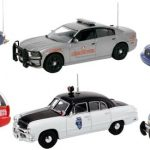 Set of 6 Police Cars Release #3 1/43 Diecast Car Models by First Response