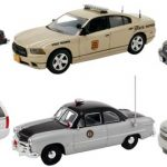 Set of 6 Police Cars Release #5 1/43 Diecast Car Models by First Response