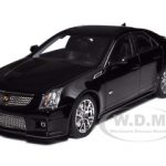 2009 Cadillac CTS-V Black Diecast Model Car 1/18 by Kyosho