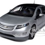 Chevrolet Volt Silver 1/18 Diecast Car Model by Kyosho