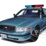 2008 Ford Crown Victoria Twilight Forks WA Charlies Police Car from Movie Twilight 1/18 Diecast Model Car by Greenlight