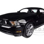 2010 Ford Mustang GT Black 1/18 Diecast Car Model by Greenlight