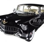 1955 Cadillac Fleetwood Series 60 Special Black 1/18 Diecast Car Model by Greenlight