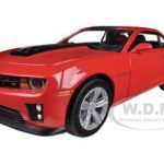 2012 Chevrolet Camaro ZL1 Red 1/24 Diecast Car Model by Greenlight