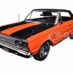 1967 Plymouth Belvedere GTX Convertible Orange Joe Dirt Movie (2001) 1/18 Diecast Car Model by Greenlight