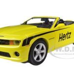 2013 Chevrolet Camaro SS Convertible Hertz 1/24 Diecast Car Model by Greenlight