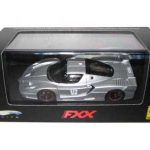 Ferrari Enzo FXX Silver #16 Elite Limited Edition 1/43 Diecast Model Car by Hotwheels