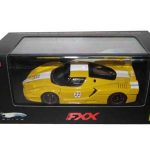 Ferrari Enzo FXX Yellow #22 Elite Limited Edition 1/43 Diecast Model Car by Hotwheels