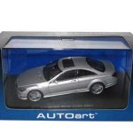 Mercedes CL63 AMG 1/43 Silver Diecast Model Car by Autoart